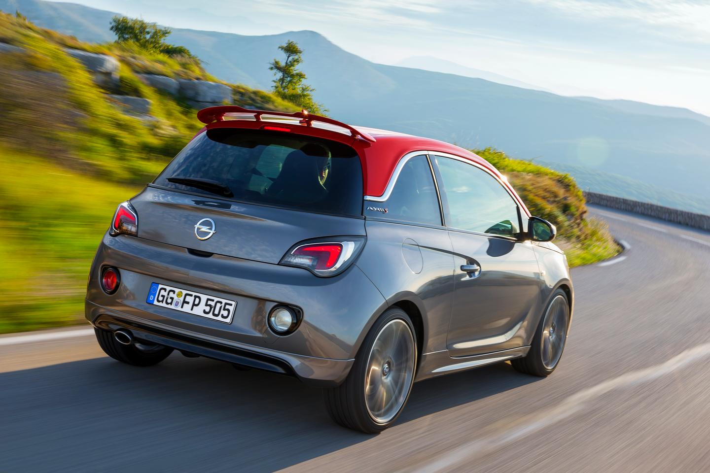 The Opel Adam S is powered by a 1.4-liter turbocharged engine