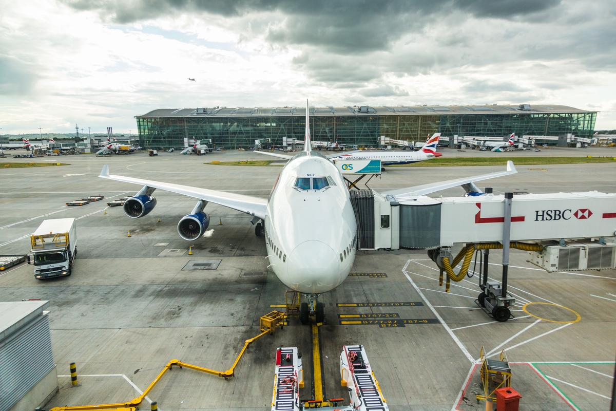 Flights out ofLondon's Heathrow Airport ground to halt today following drone sightings in the area