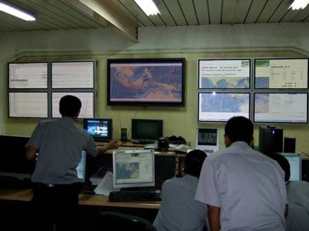BMG warning centre in JakartaImage: GITEWS