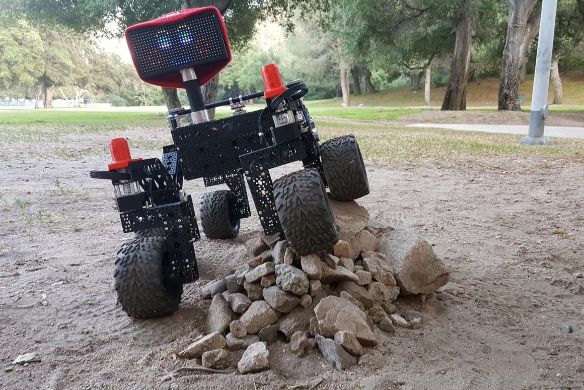Inspired by the design of the Mars Curiosity Rover, build plans and instructions for this scaled-down model are now available for free download