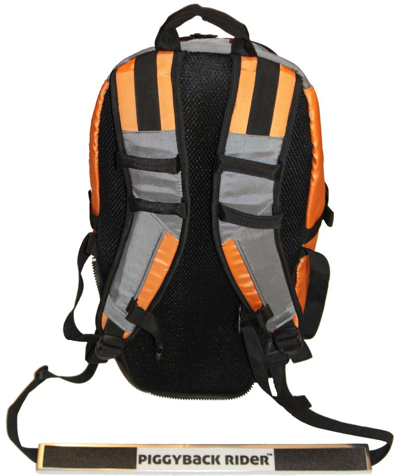 The Piggyback Rider XL Backpack carries child and gear