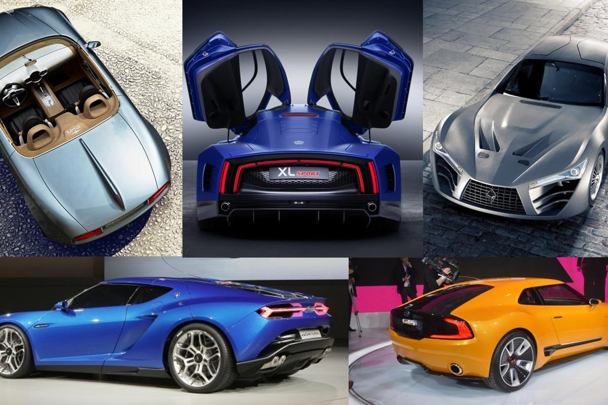 Top sports car concepts of 2014