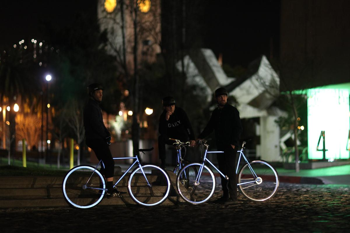 The Lumen Retro-Reflective City Bicycle from San Francisco's Mission Bicycle Company