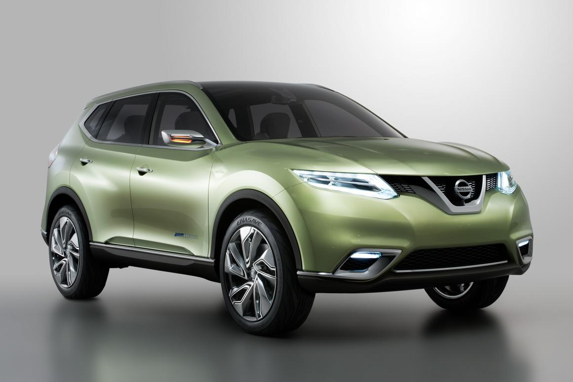 Much of Nissan's design work was in the front