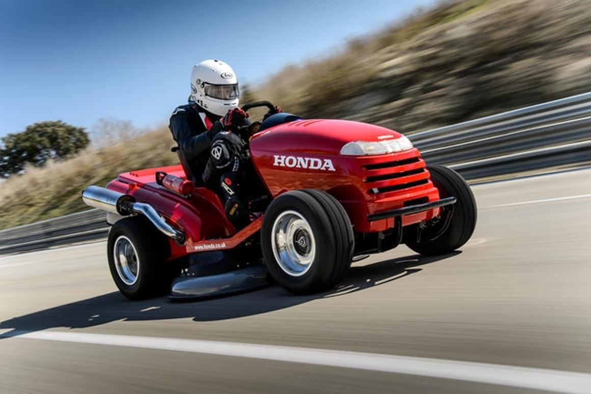 Honda Mean Mower is officially the fastest lawnmower in the