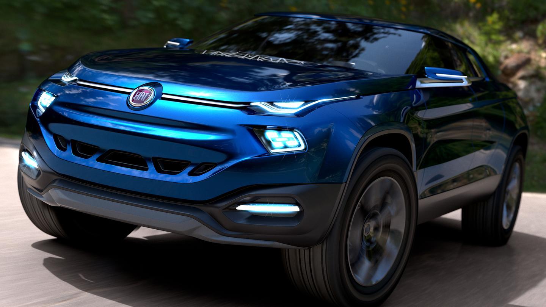Fiat presents the FCC4 design study
