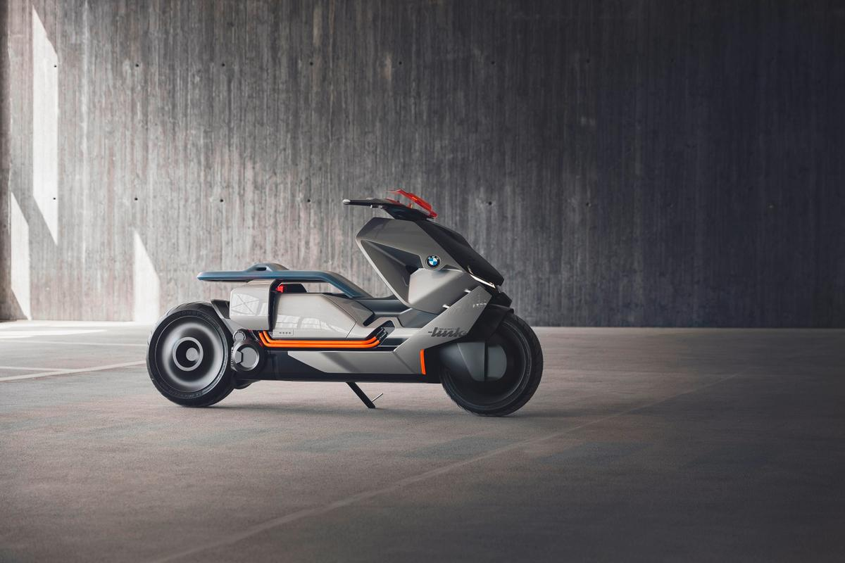 BMW Motorrad's Concept Link is the fifth model under the Vision Next 100 banner