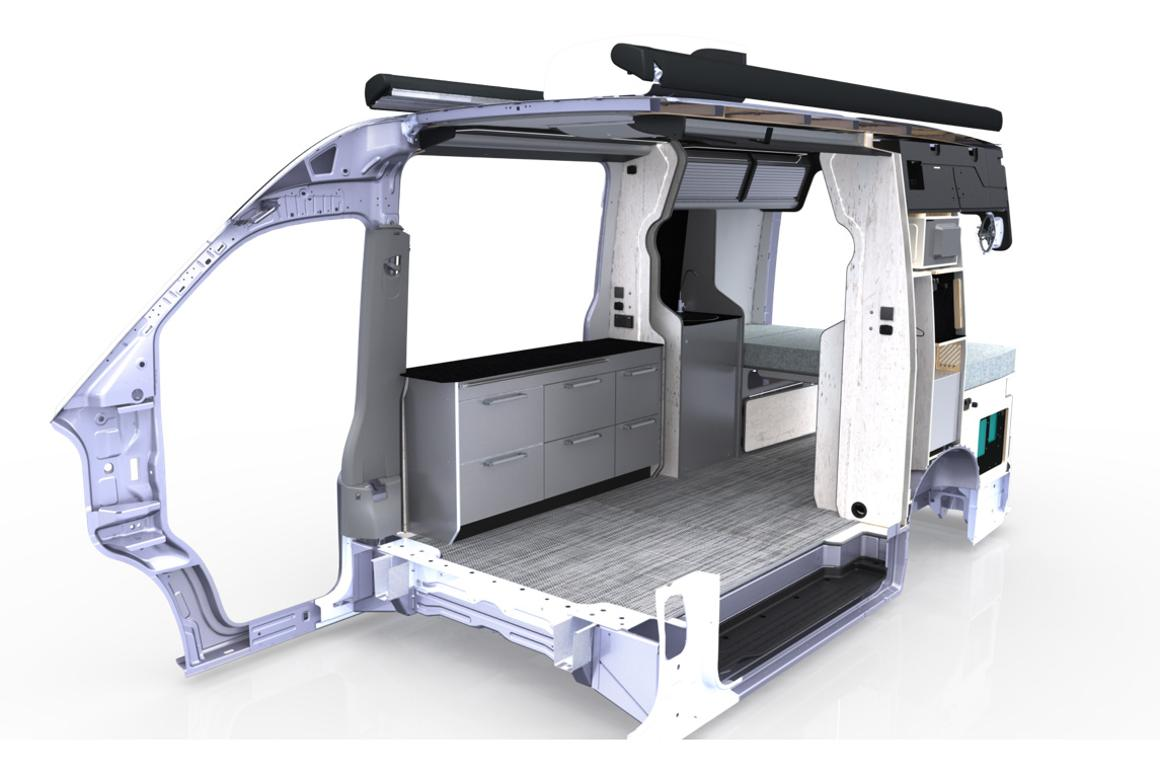 Trakka's new camper van is a go-anywhere mobile office