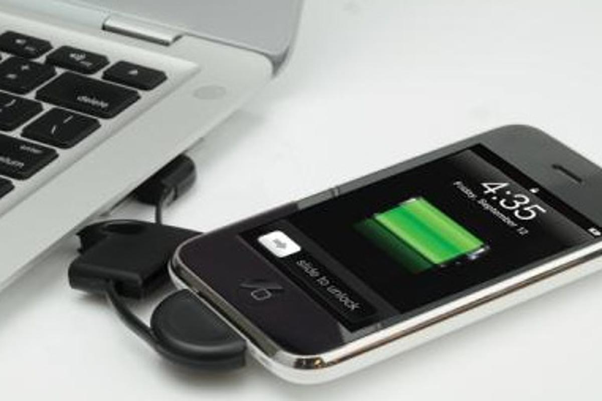 The flipSYNC offers a convenient way to always have an iPod, iPhone or mini USB sync cord handy