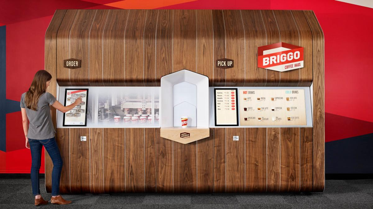 Briggo's Coffee Haus is now in use at the University of Texas at Austin
