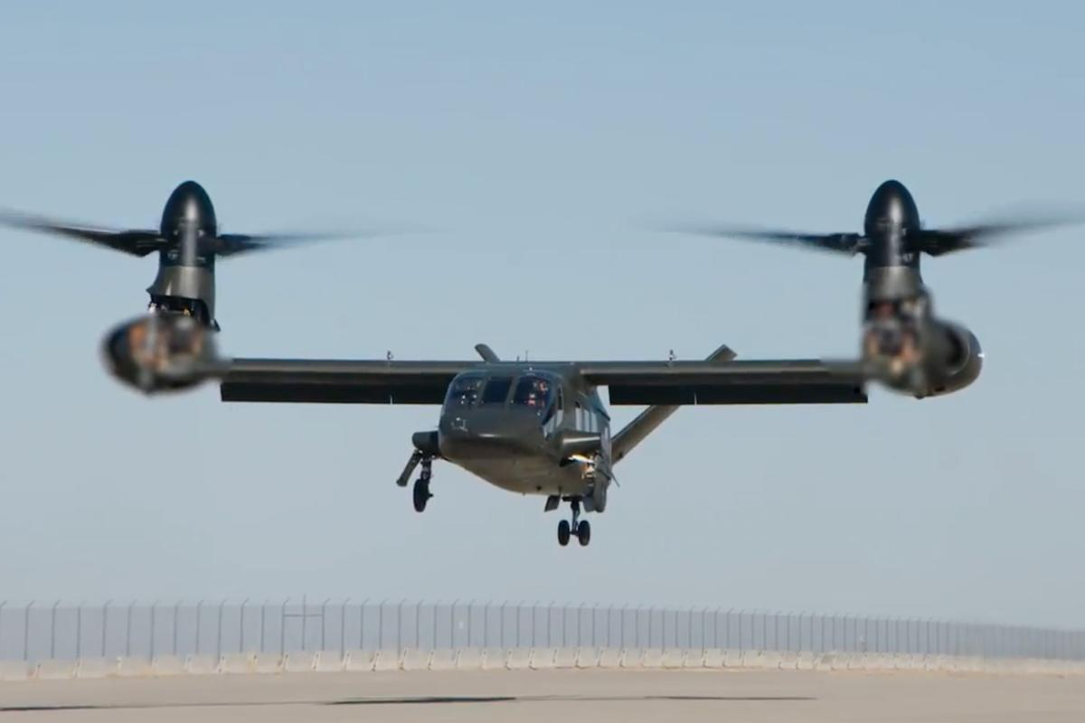 Bell Helicopter's V-280 Valor tilt-rotor aircraft makes its maiden flight
