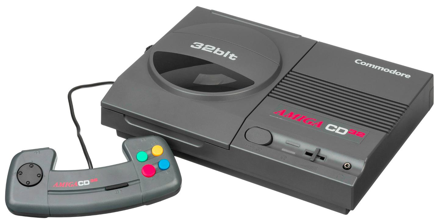 The Amiga CD32's controller, alas
