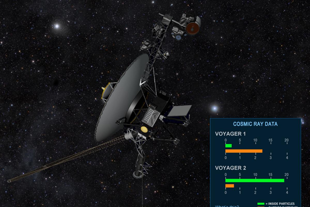 The Voyager gauge (Image: NASA)
