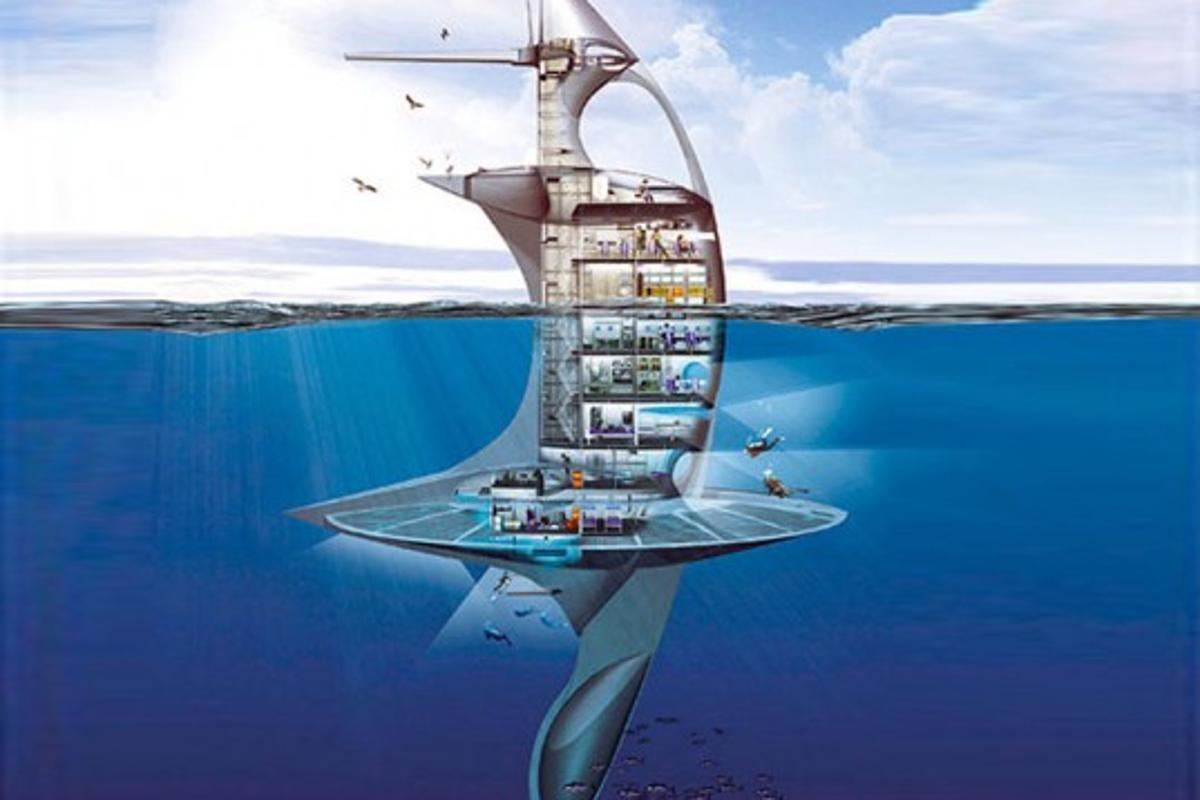 Recent developments have rumored that the SeaOrbiter is set to start construction in October with possible completion in 2013.