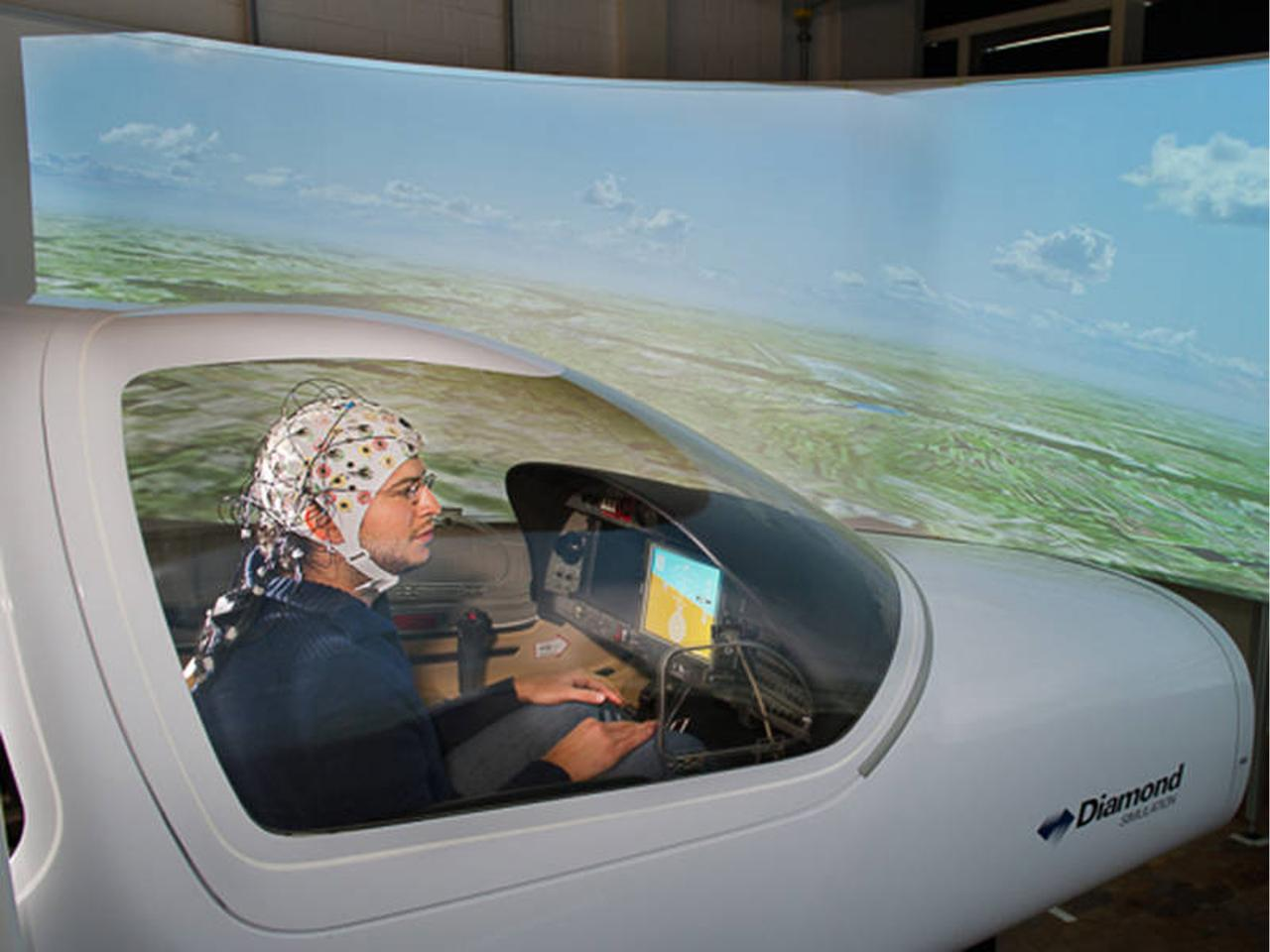The technology has been tested in a flight simulator