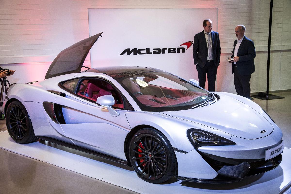 McLaren used the Australian Grand Prix as an excuse to bring one of just two GTs Down Under