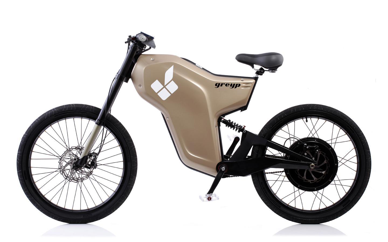 The Greyp G-12 electric bike is made by Croatia's Rimac Automobili