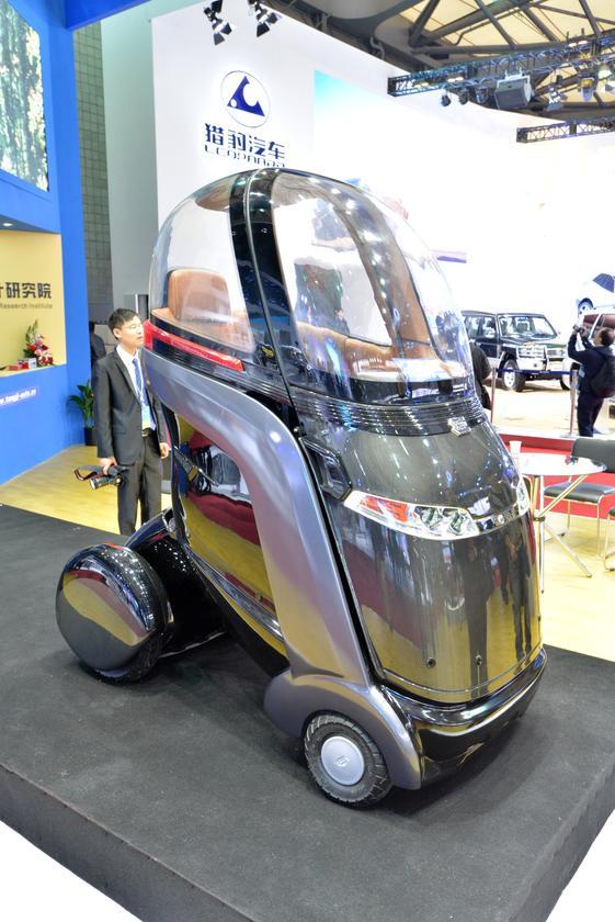 Tongji Automotive's Intelligent Electric Vehicle