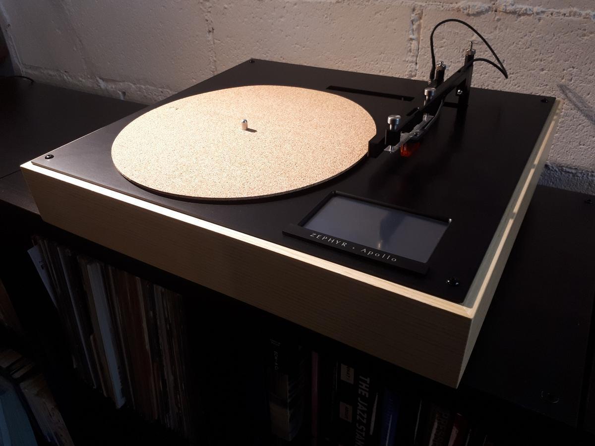 Analog sound, digital brains: The Zephyr Apollo turntable from Singapore's Vinylicious Music