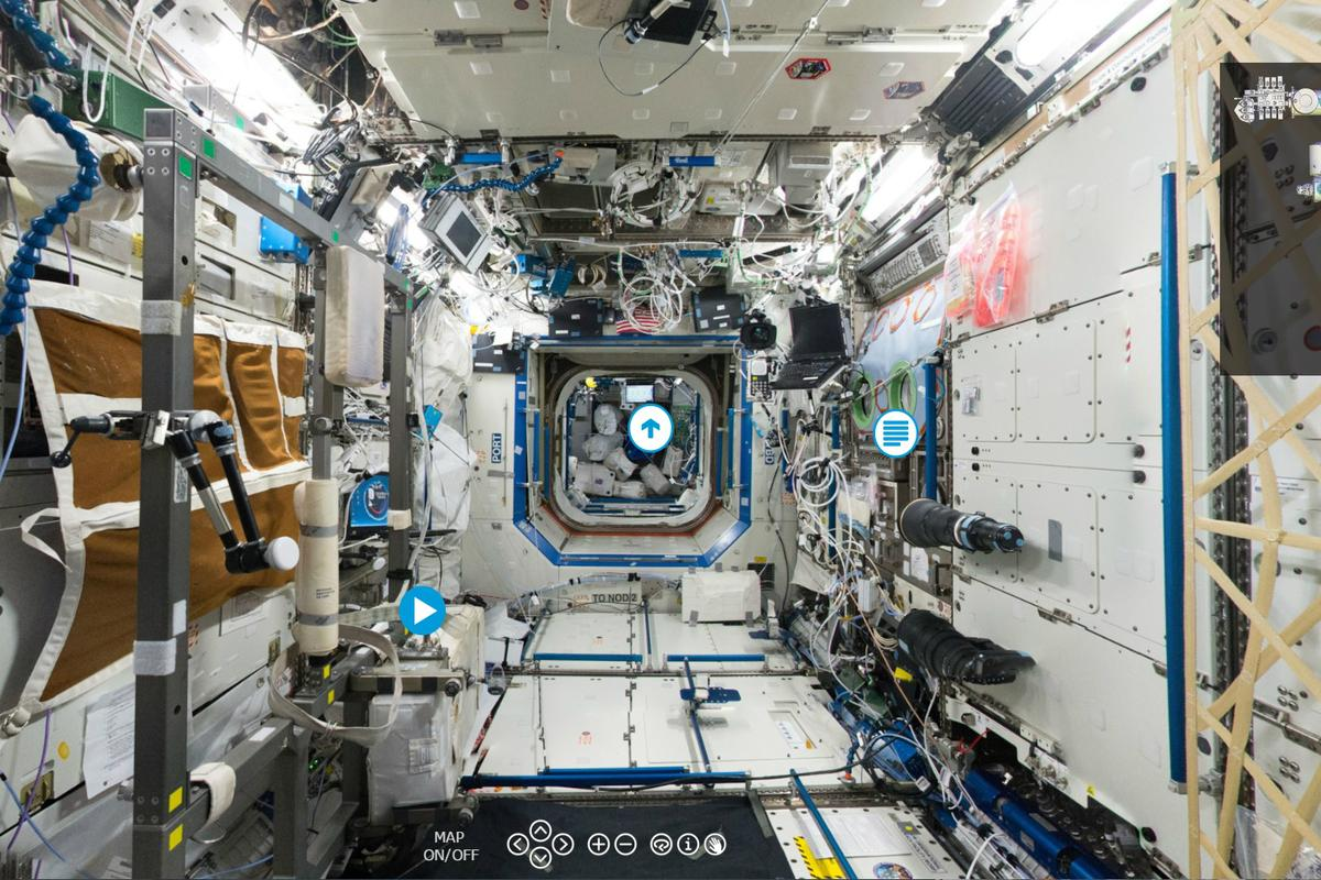 ESA's virtual tour of the ISS allows viewers to explore Earth's most isolated outpost