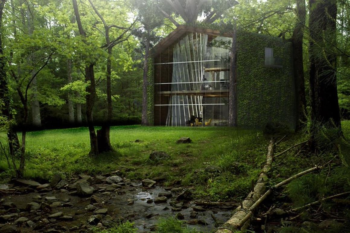 The eco-treehouse conceptis designed to make living among the trees a little greener