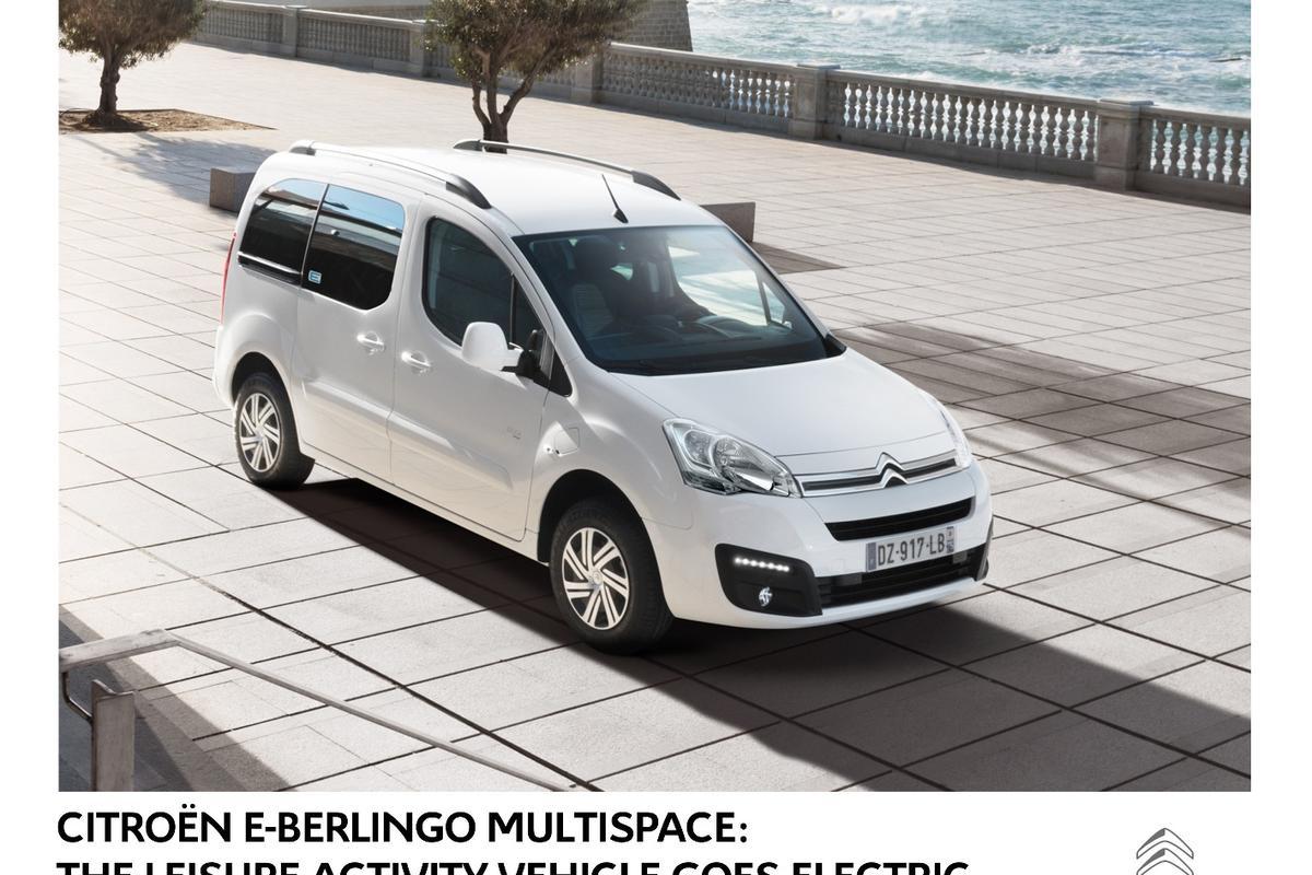 The Citroen E-Berlingo