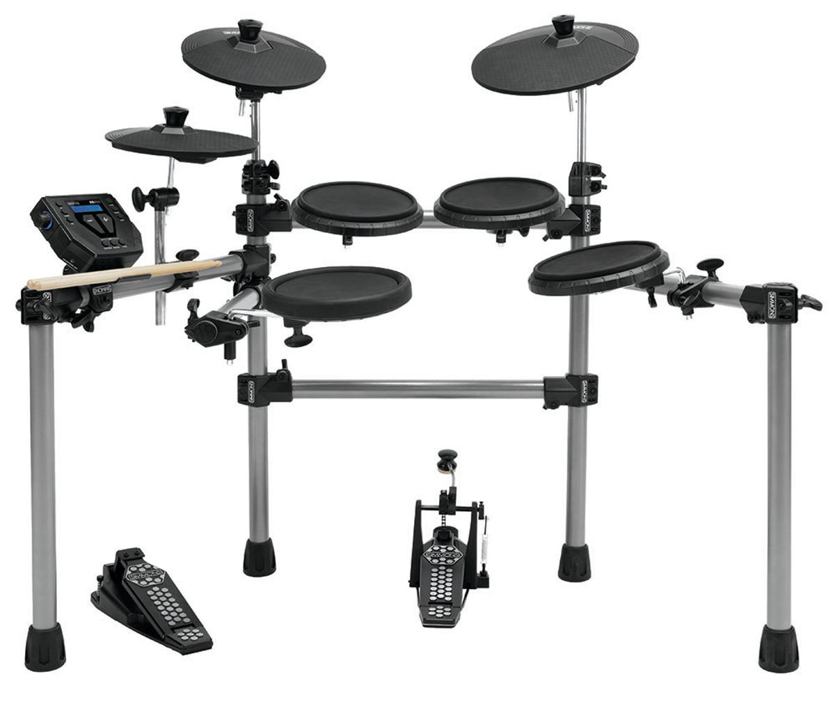 The wallet-friendly SD500 electronic drum set from Simmons