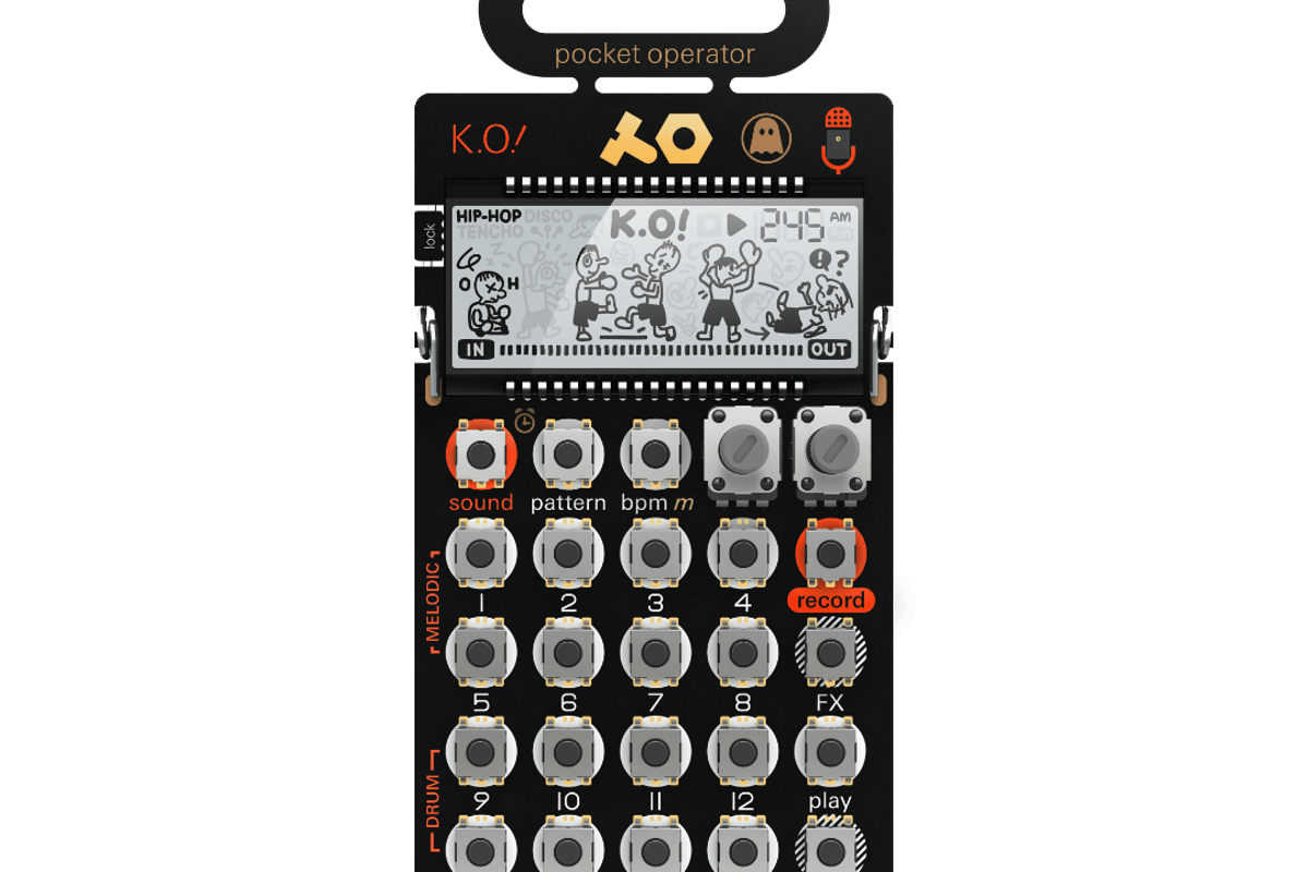 The PO-33 Ghostly edition micro sampler includes unique sounds from Ghostly artistSteve Hauschildt