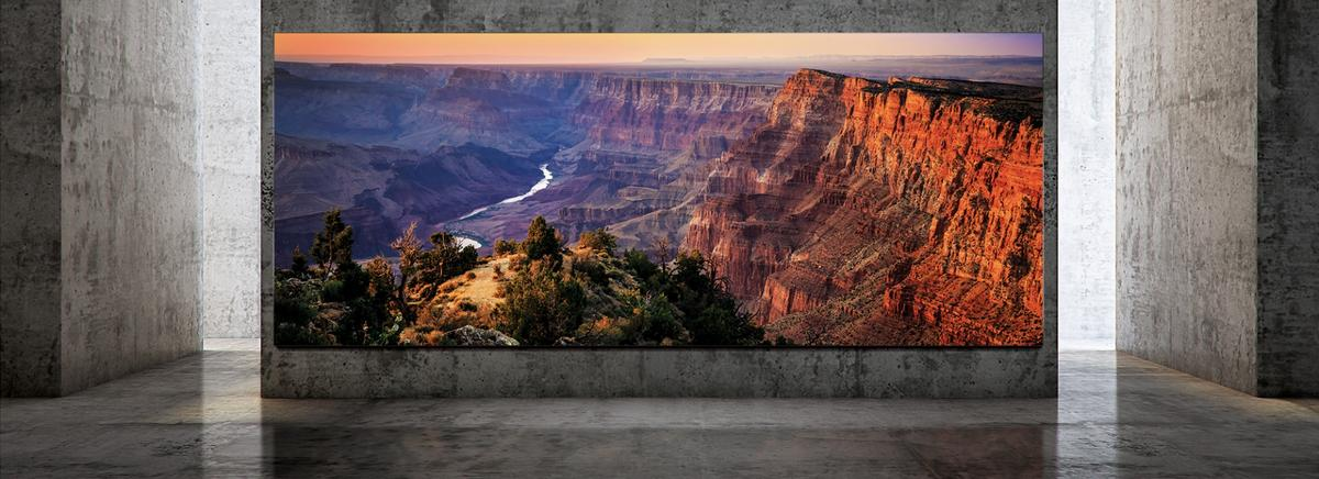 Samsung's The Wall Luxury Micro LED TV will be available in sizes up to 292 inches from July