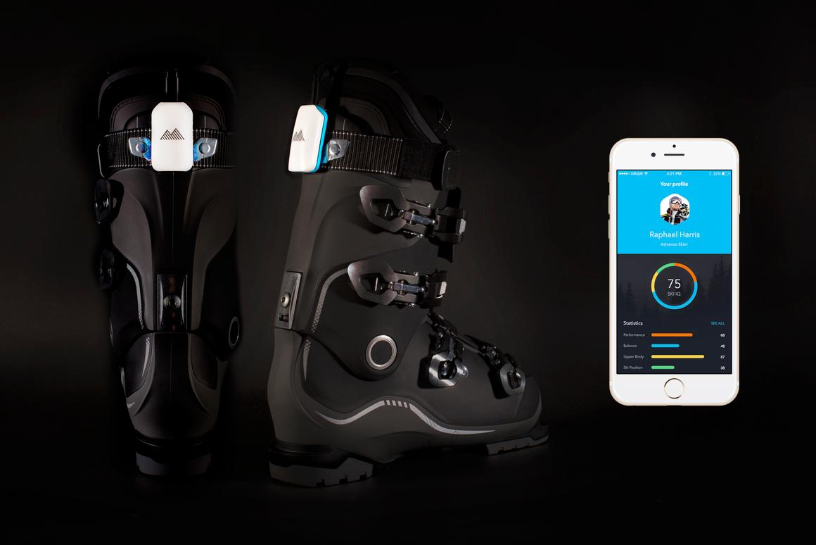 The Carv system features an external device that connects wirelessly to an iOS or Android device