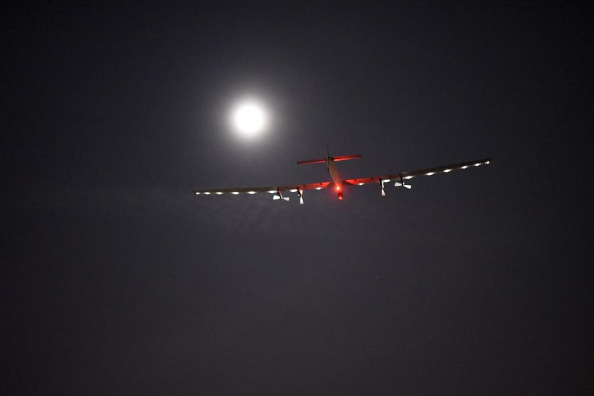 Solar Impulse 2 is now headed toward Pennsylvania
