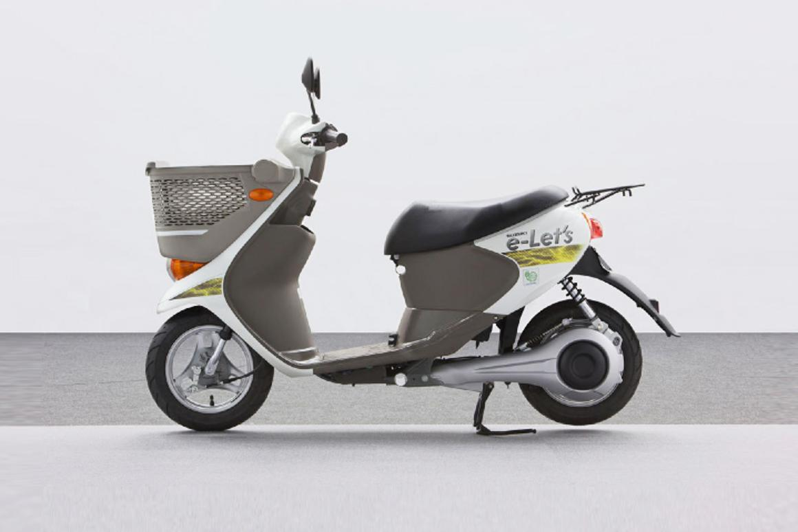 Sanyo and Suzuki have announced a collaborative project resulting in the development of an electric drive system for an prototype scooter named e-Let's