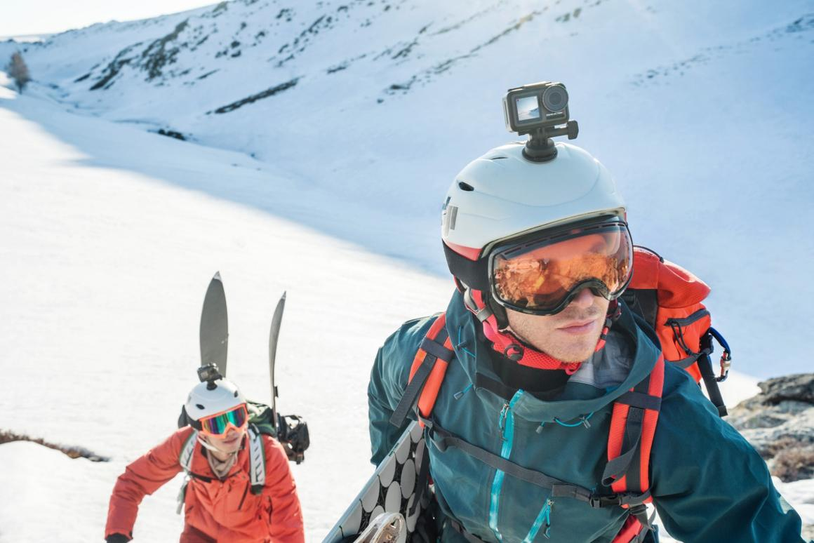The DJI Osmo Action is dust-, water- and shockproof, and can operate in sub-zero temperatures
