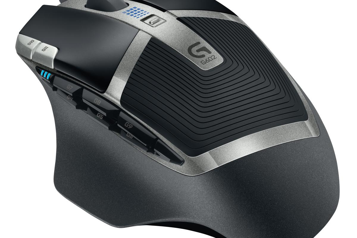 The Logitech G602 Wireless Gaming Mouse
