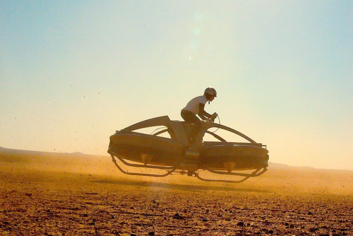 Aerofex says its Aero-X hoverbike will be available to buy in 2017 (Photo: Aerofex)