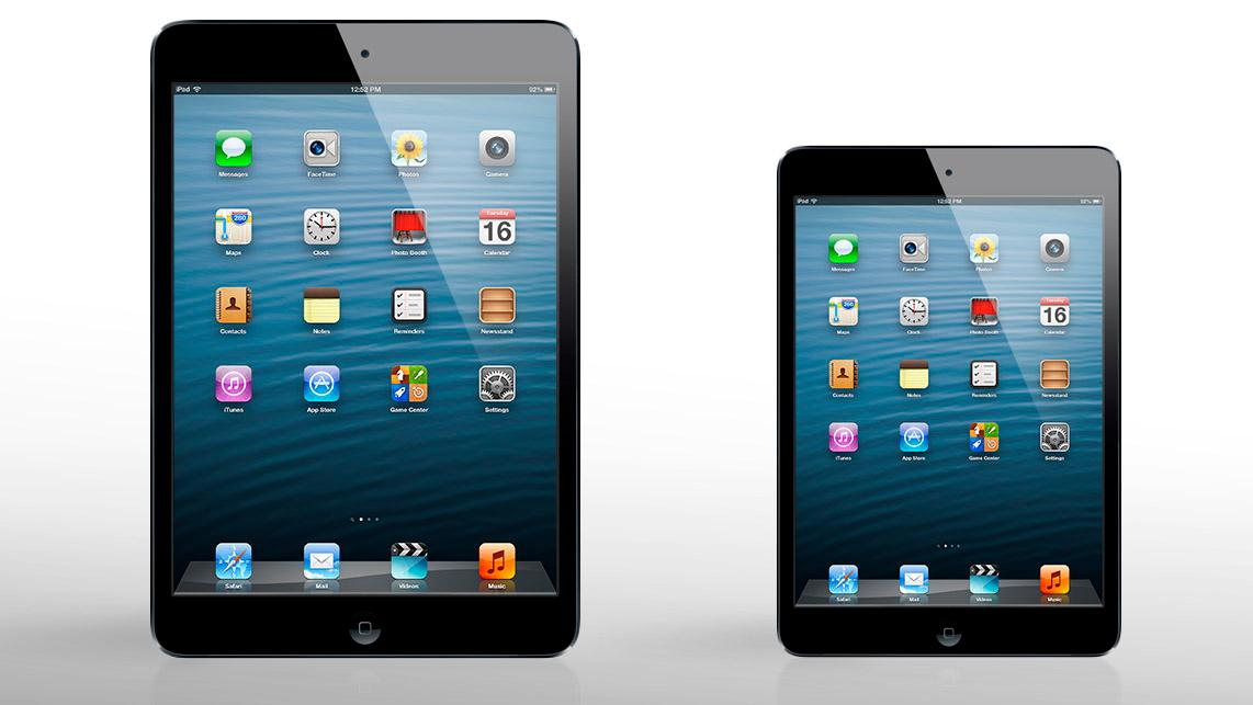 Perhaps the two 2013 iPads will look something like this