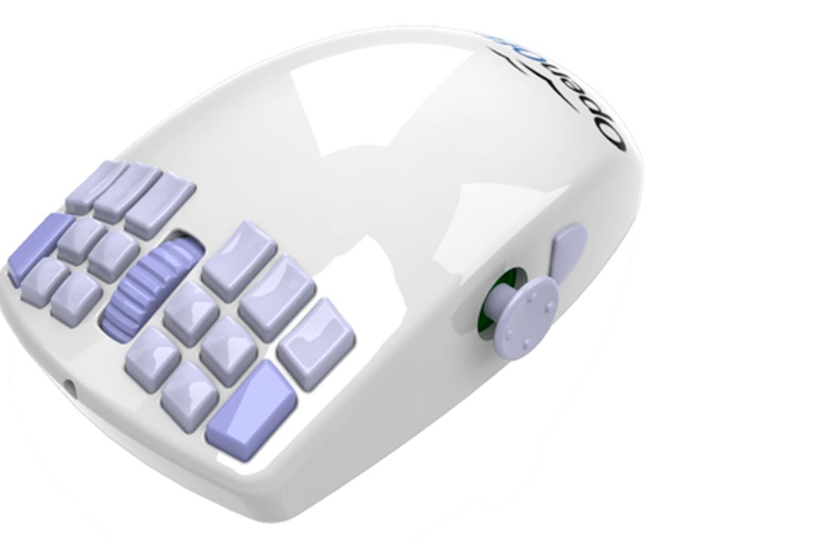 The OpenOfficeMouse from WarMouse is an 18-button mouse complete with analog joystick which supports up to 52 key commands