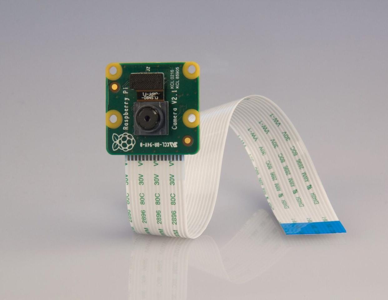 The new camera module for the Raspberry Pi computer boards is based around Sony's back-illuminated IMX219 CMOS sensor