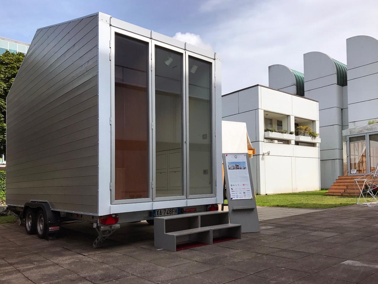 Berlin- based Italian architect and engineer Leonardo Di Chiara designed and built the prototype aVOID tiny house