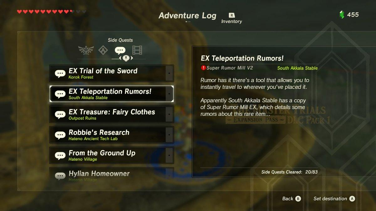 The mission description.