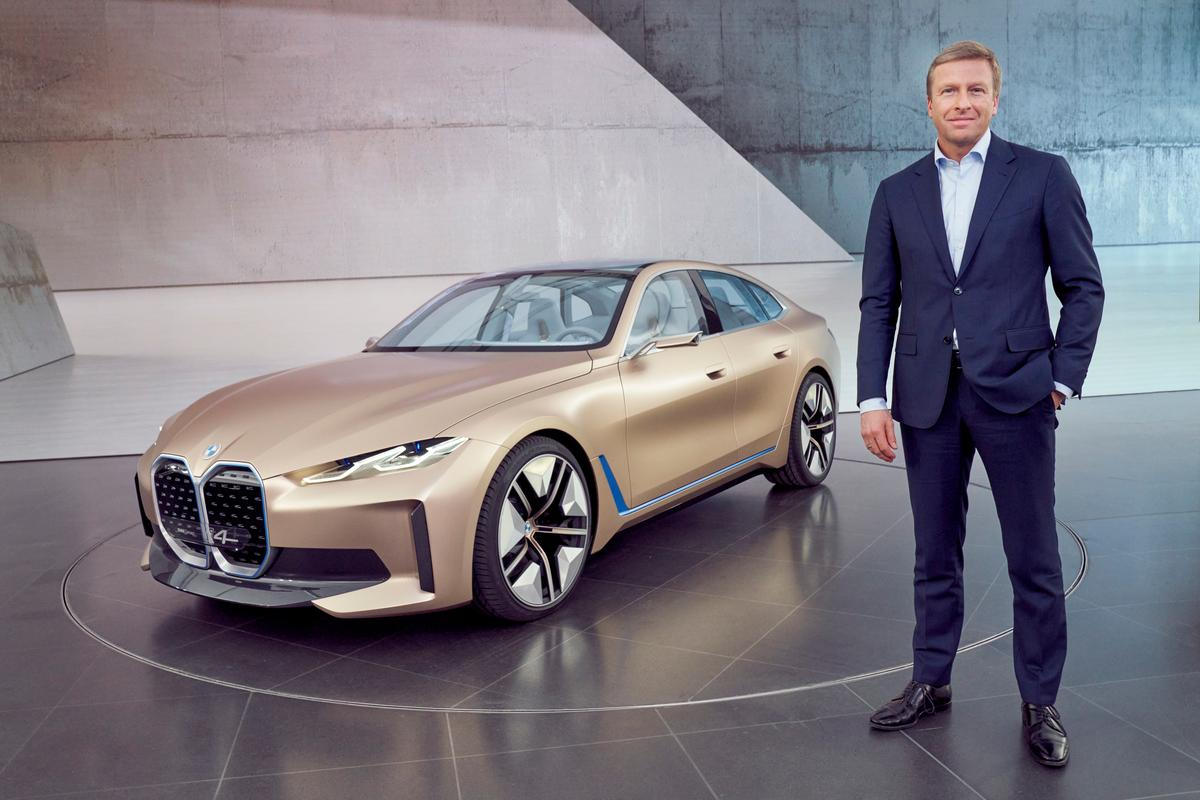 BMW has today presented its Concept i4 electric Gran Coupe, which will go into production in 2021