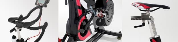 The Wattbike, a stationary bicycle training that measures and displays its rider's power output in watts, is now available in the U.S. (Photo: Wattbike)