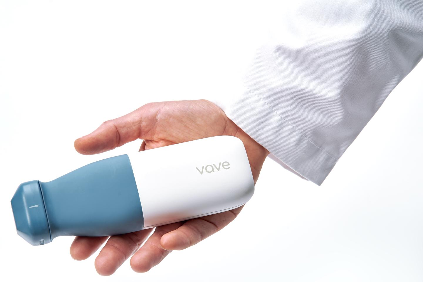 The Vave service includes on-demand access to ultrasound experts