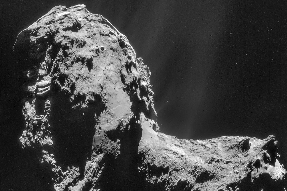 The latest findings indicate that the Earth's water may not have come from comets (Image ESA/Rosetta/NAVCAM)