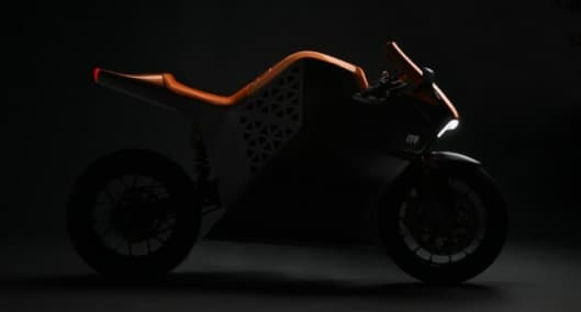 The Mission One Electric Sports Motorcycle