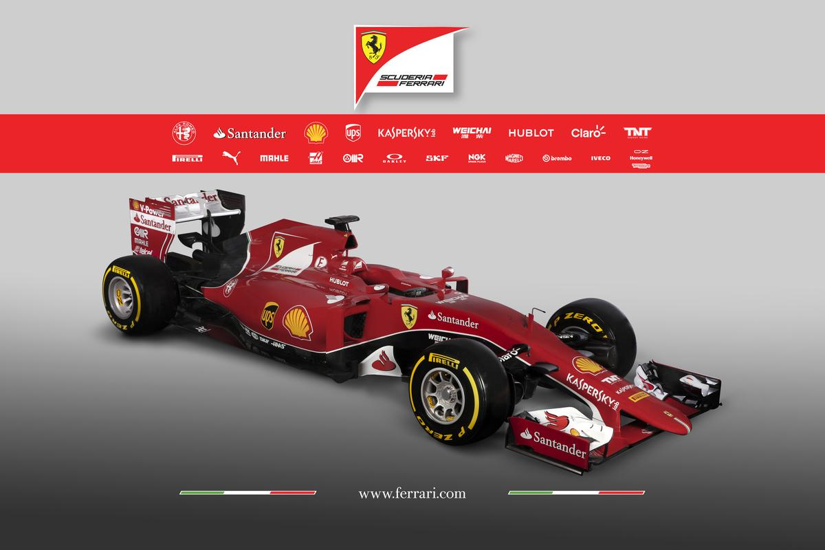 Ferrari Scuderia has rolled its SF15-T off the truck and into the public eye