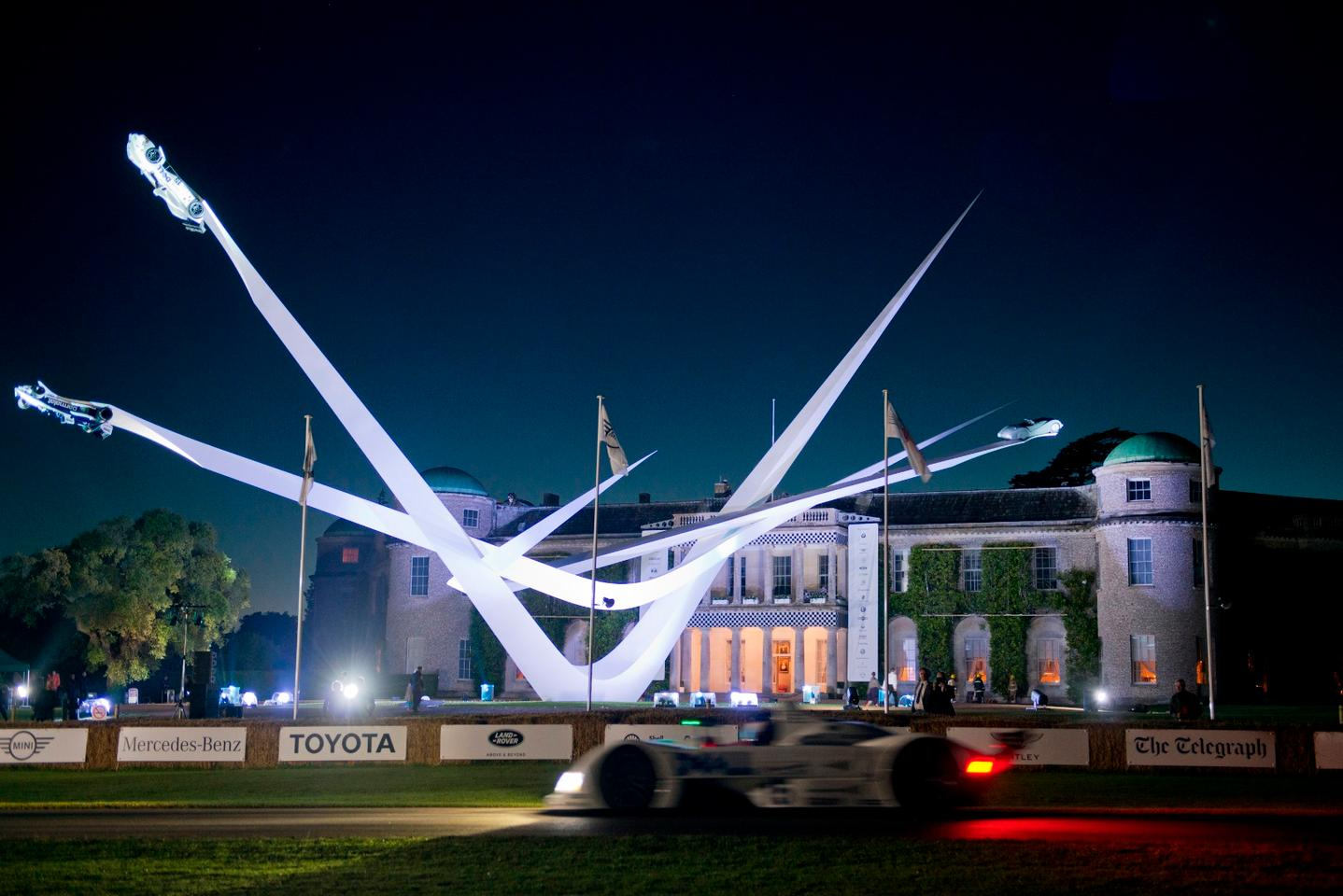 BMW was this year's featured marque at the Goodwood Festival of Speed
