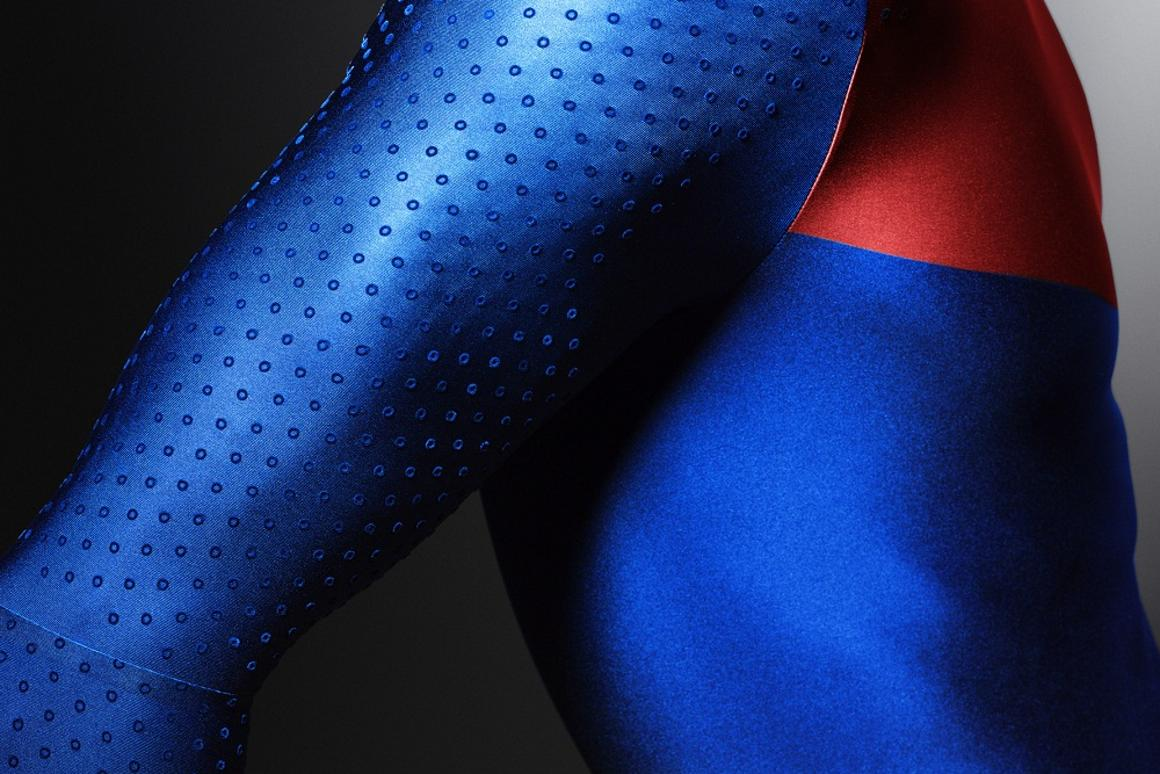 The Nike Pro TurboSpeed features golf ball-inspired dimples - Sleeve detail