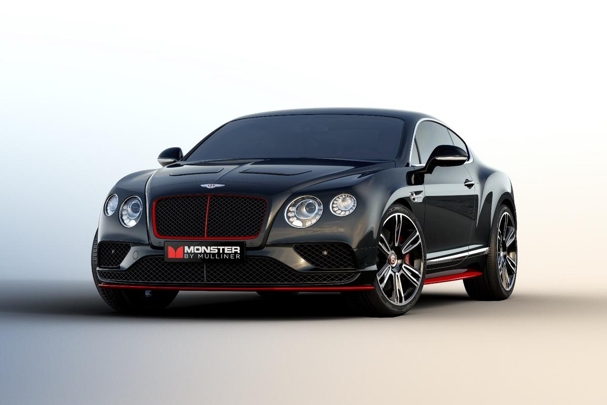 Bentley and Monster have partnered up on a special car for CES