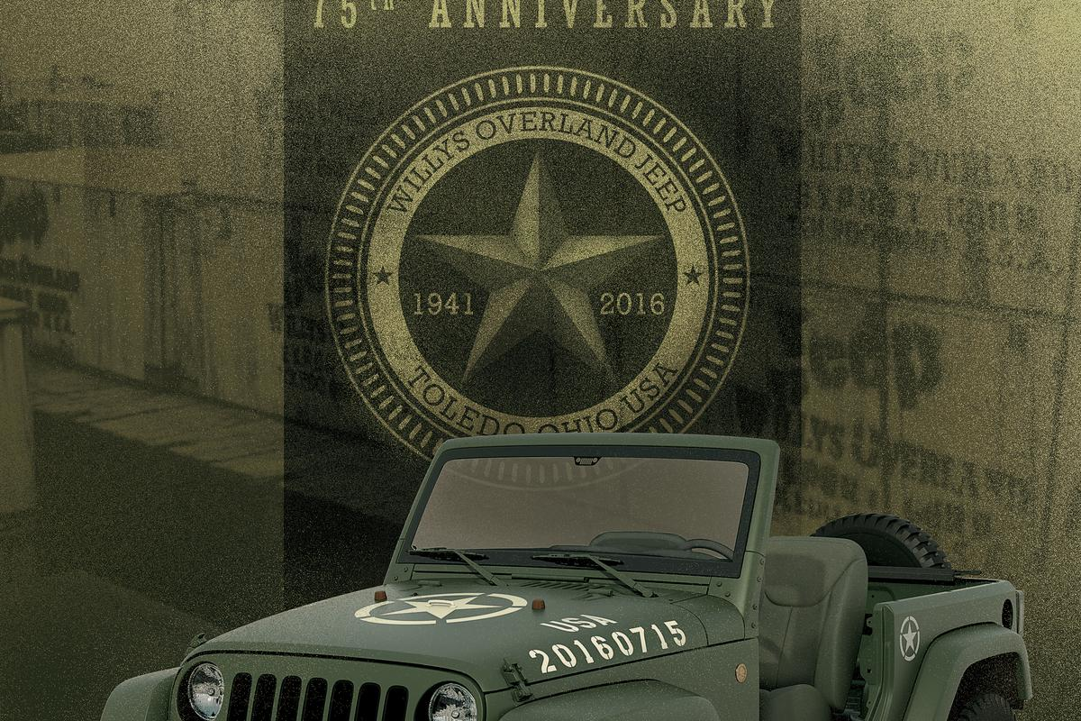 The Jeep Wrangler Salute is a shameless throwback to wartime Willys past